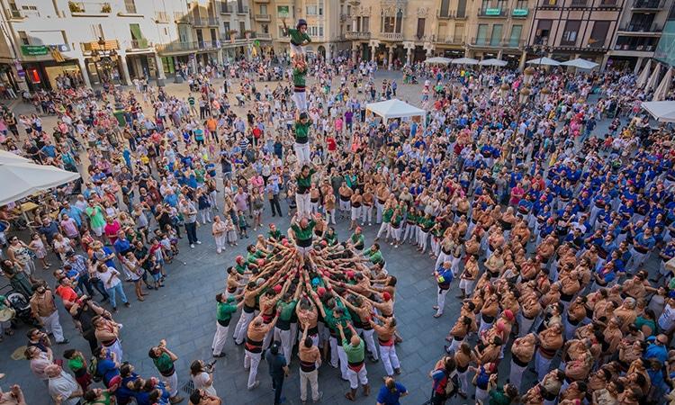 Festas tradicionais da Espanha: concurso de Castells