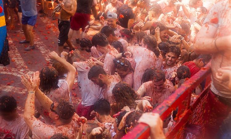 Festas tradicionais da Espanha: La Tomatina
