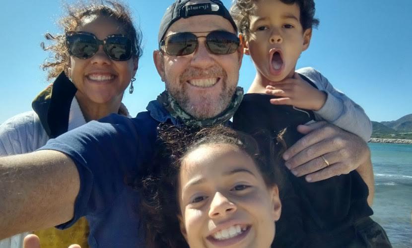 Foto família Fernanda
