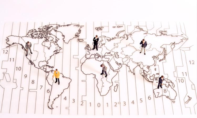 fuso horário de Portugal mapa