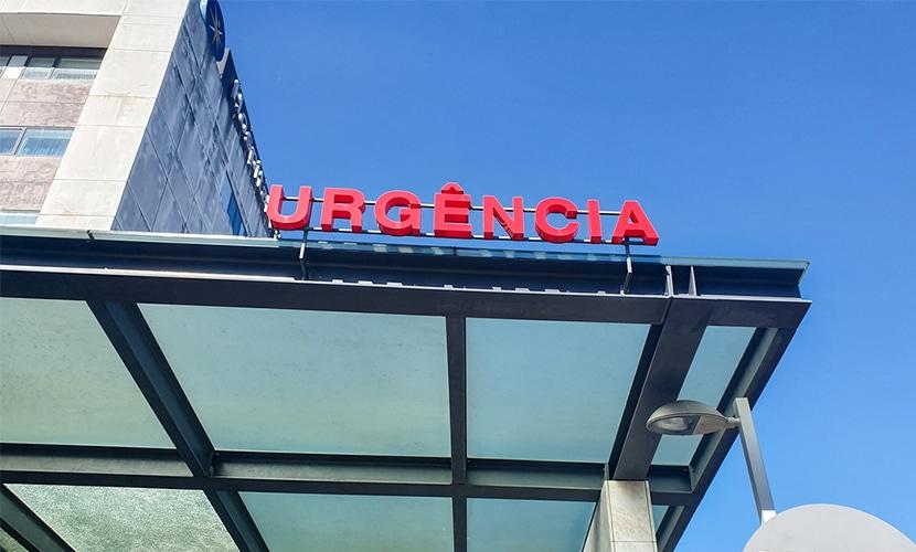 Hospital de urgência em Portugal