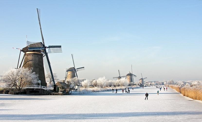 inverno nos Países Baixos