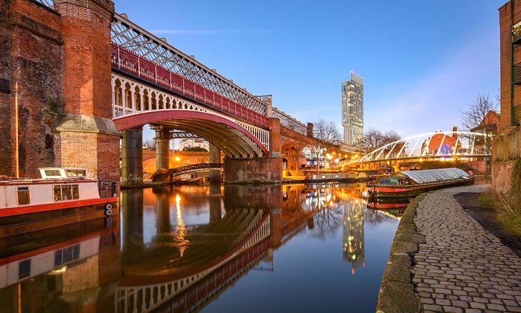 Manchester, importante cidade inglesa