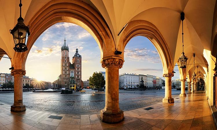 morar na Polônia Cracóvia