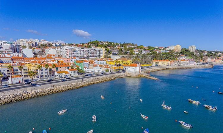 Oeiras próximo de Lisboa