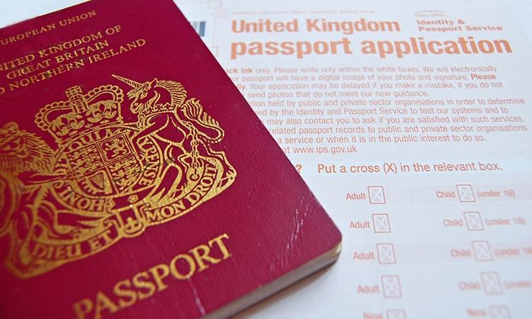 Passaporte britânico