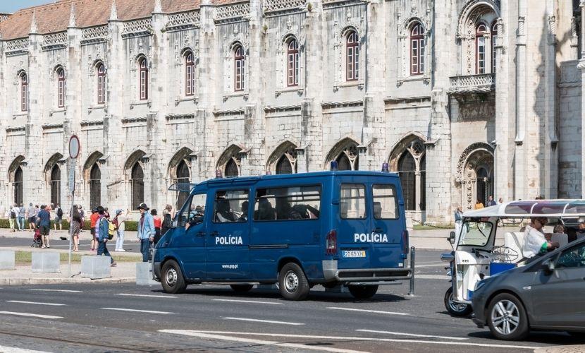 Polícia em Portugal