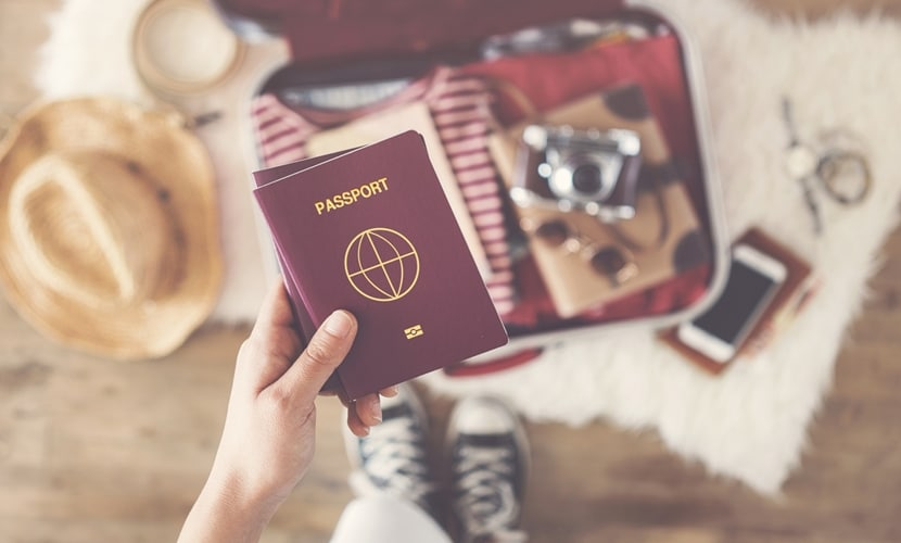 precisa para viajar Europa passaporte