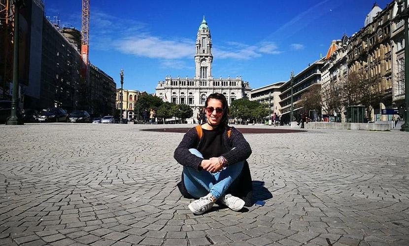 Psicóloga Raissa veio a Portugal estudar licenciatura e mestrado
