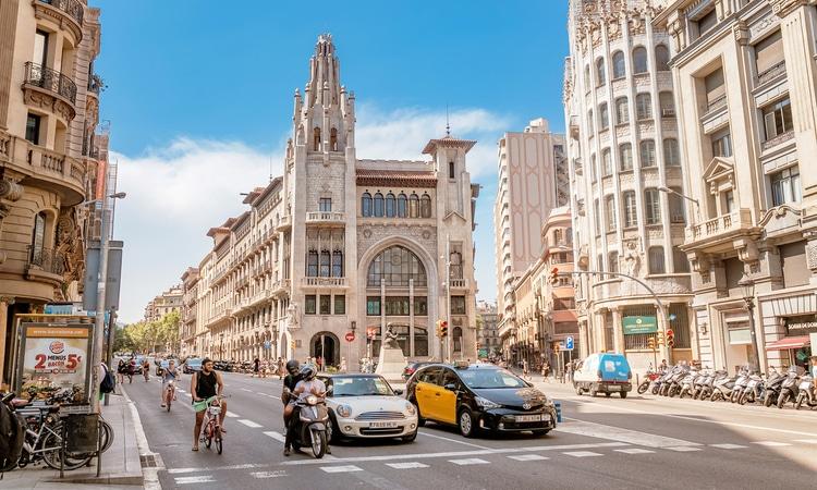ruas em barcelona