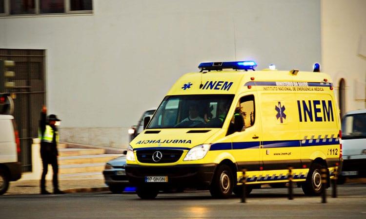 Serviço de saúde emergencial em Portugal
