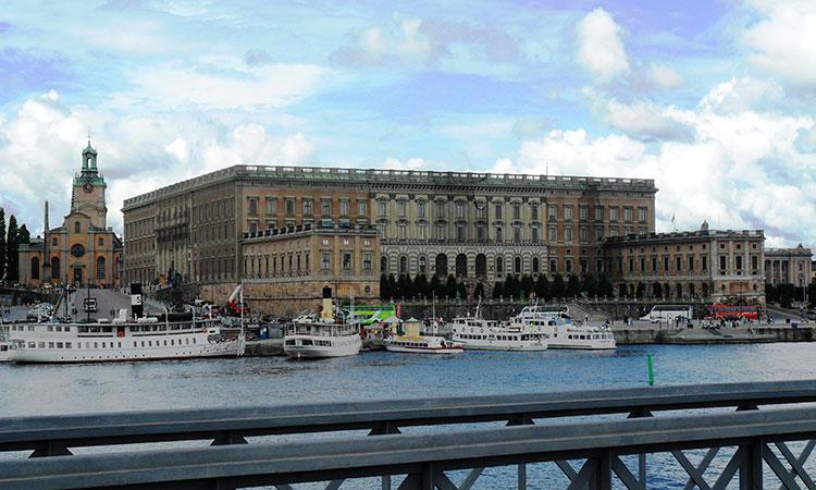 Stockholms slott ou Palácio Real da Suécia
