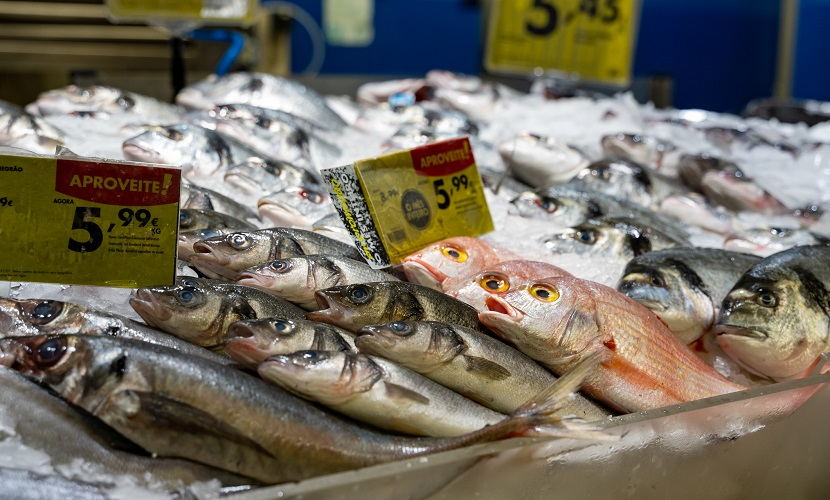 supermercado em Portugal peixaria