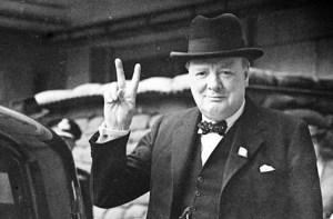 Уинстън Чърчил - британски политик и държавник