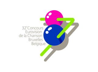 Logo ESC 1987