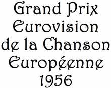 Logo ESC 1956