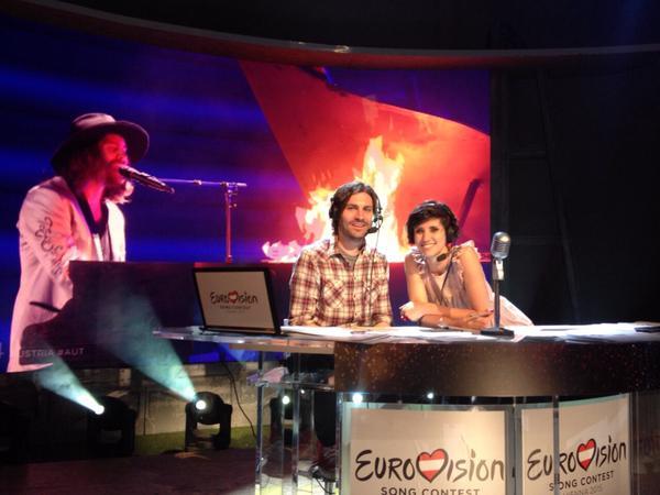 Eurovision 2015 - Federico Russo e Valentina Correani