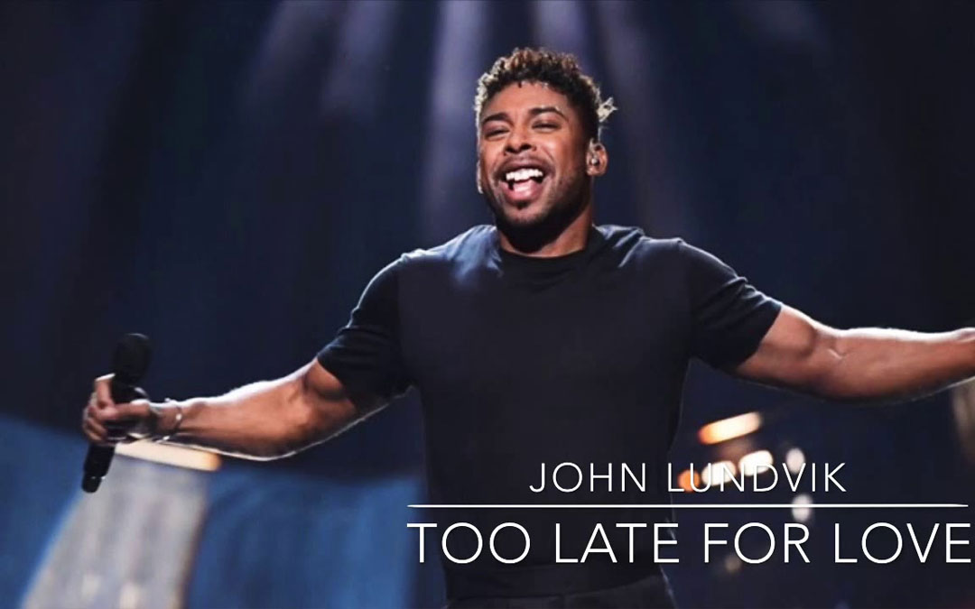 "Eurovision 2019 – La Svezia con ""Too late for love"" di John Lundvik"