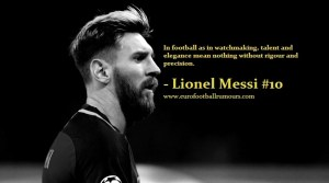 Football Quotes 2 - Lionel Messi