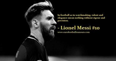 Football Quotes 2 - Lionel Messi