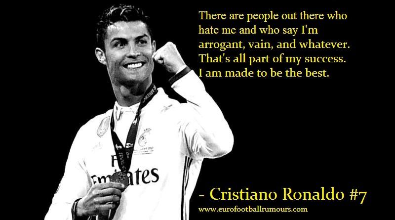 Football Quotes 3 - Cristiano Ronaldo