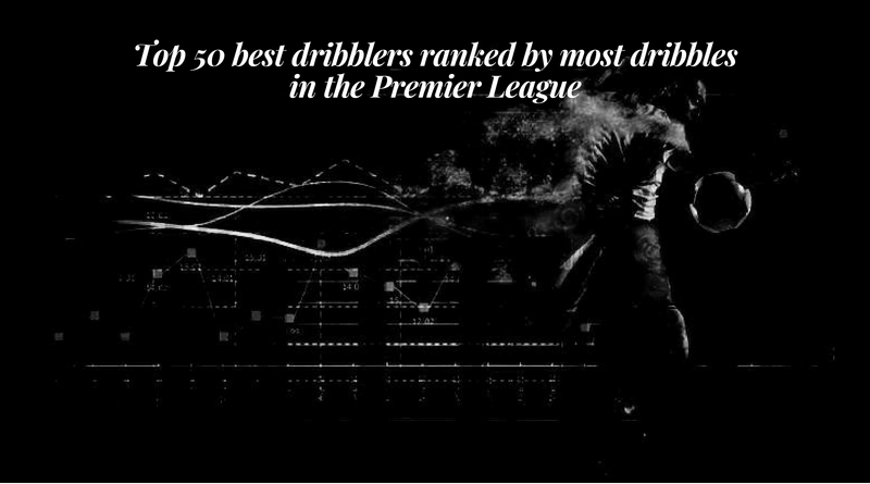 Top 50 best dribblers ranked by most dribbles in the Premier League