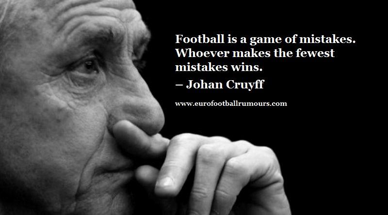 Football Quotes 20 Johan Cruyff