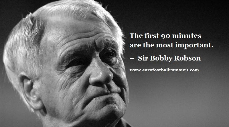 Football Quotes 26 Sir Bobby Robson