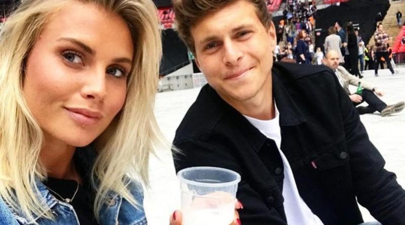 Victor Lindelof and Maja Nilsson