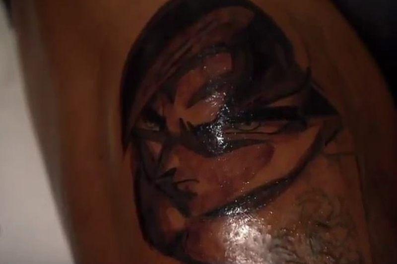 Pierre-Emerick Aubameyang's Tattoo