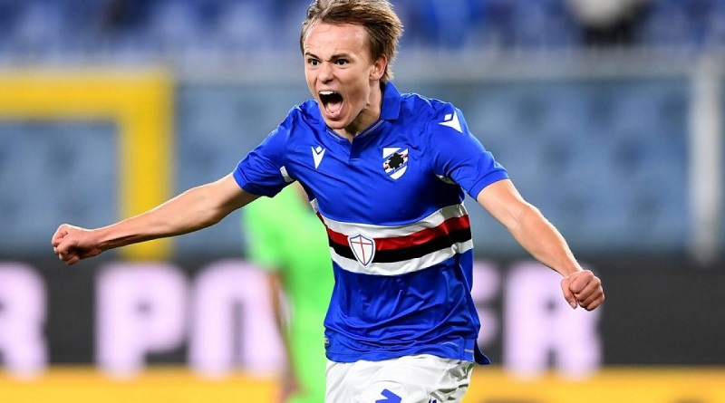 Liverpool join Tottenham in race for Sampdoria winger Mikkel Damsgaard