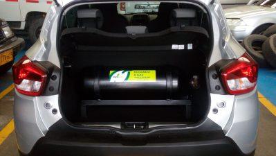 Con cilindro de 40 litros, con un llenado de GNV de solo 14.500 recorre hasta 150 km