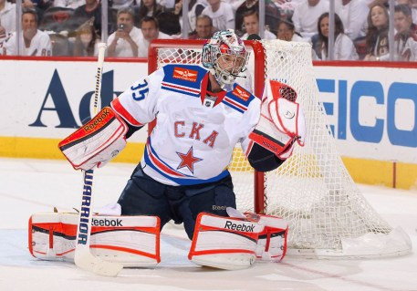 St. Petersburg goalie Pekka Rinne, who led the Red Stars into the Season 2 Finals, has a 2-year save percentage of 91.7.
