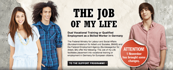 Get trained in Germany