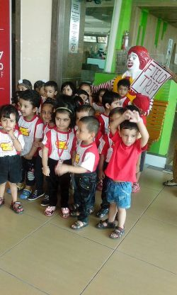 Euro Kids at Mc D Dhakoli