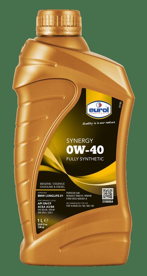 Eurol Synergy 0W-40 1L Арт. E100064-1L