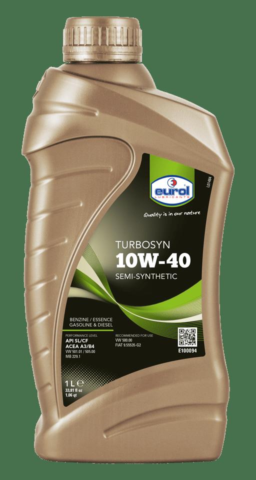 Eurol Turbosyn 10W-40 1L Арт. E100094-1L