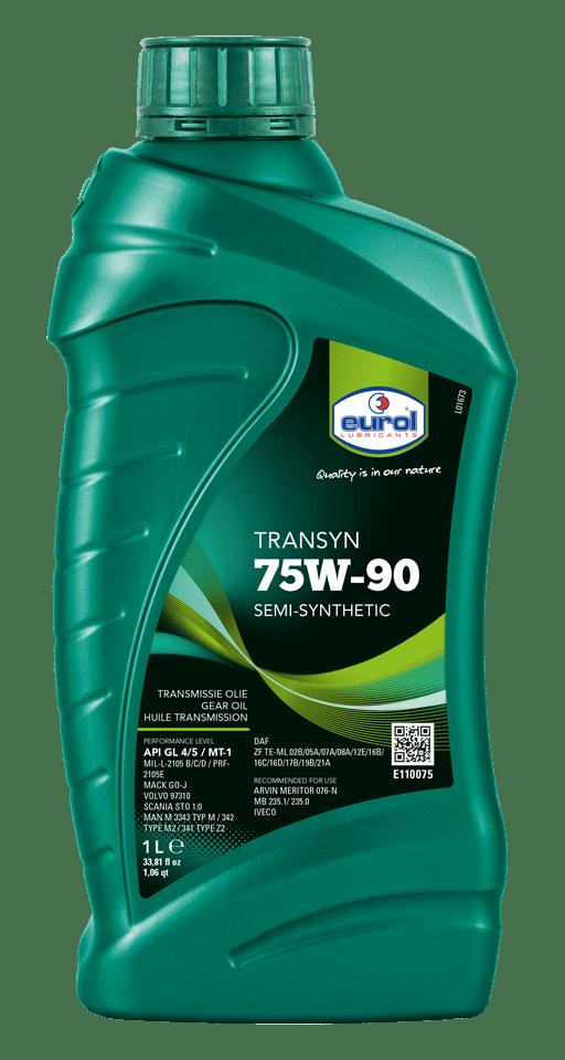 Eurol Transyn 75W-90 GL 4/5 1L Арт. E110075-1L
