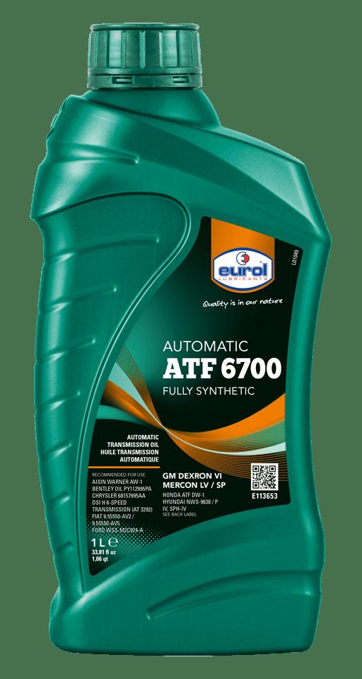 Eurol ATF 6700 1L Арт. E113653-1L