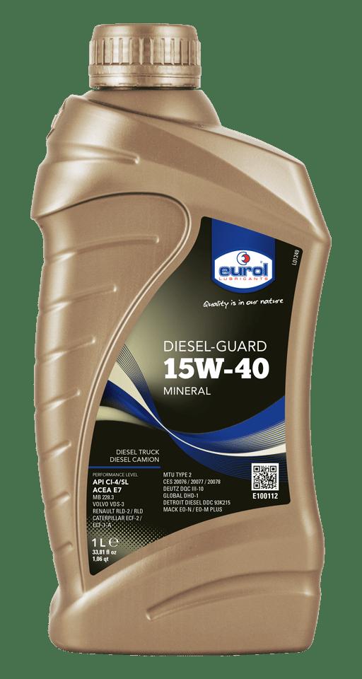 Eurol Diesel-Guard 15W-40 1L Арт. E100112-1L