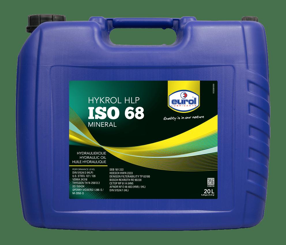 Eurol Hykrol HLP ISO 68 20L Арт. E108730-20L