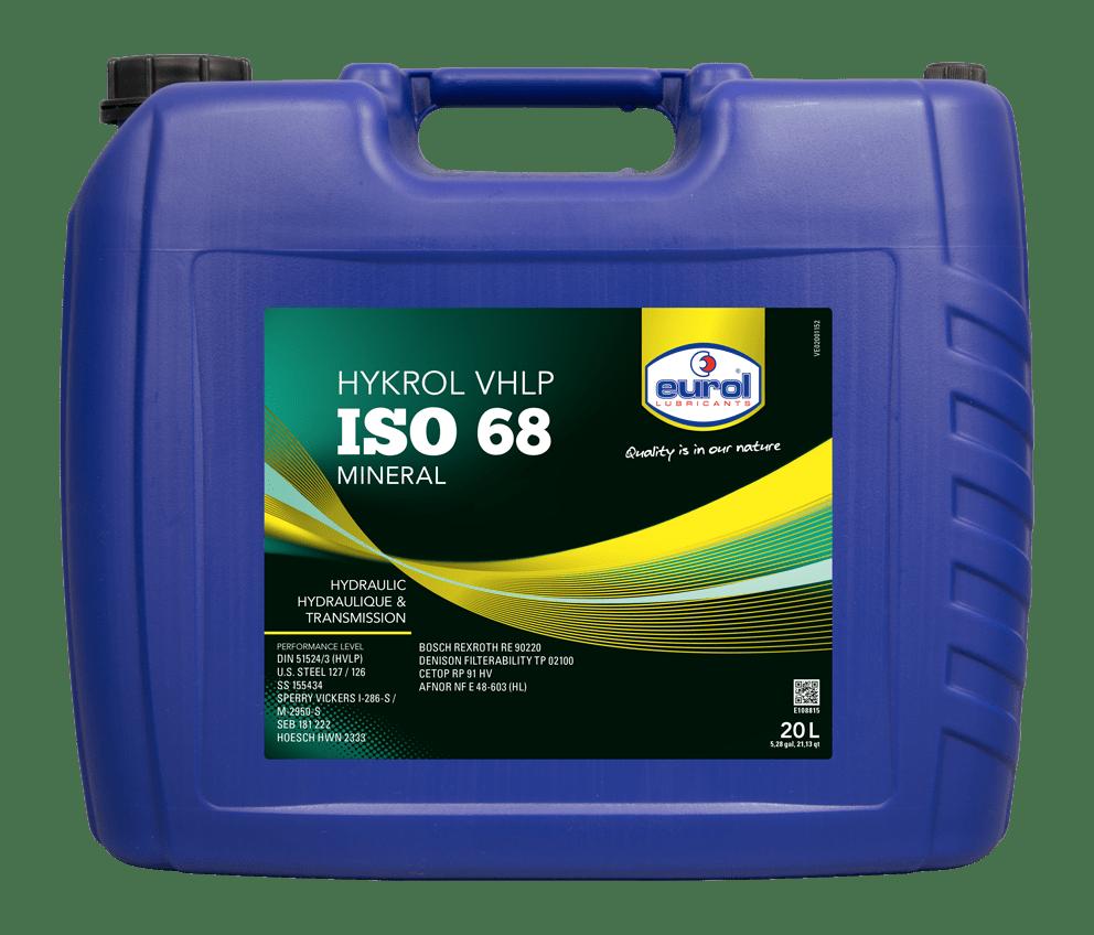 Eurol Hykrol VHLP ISO 68 20L Арт. E108815-20L