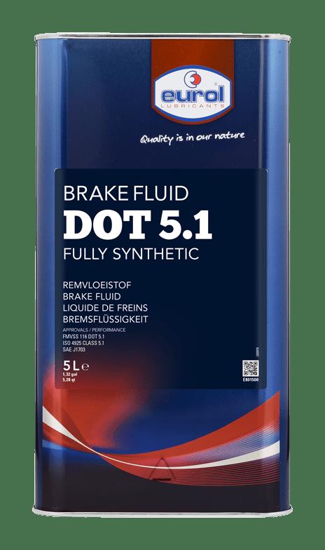 Eurol Brake Fluid DOT 5.1 Арт. E801500-5L
