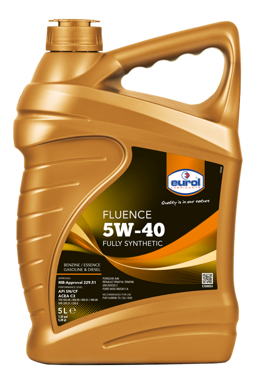 Eurol Fluence 5W-40 Арт. E100054-5L