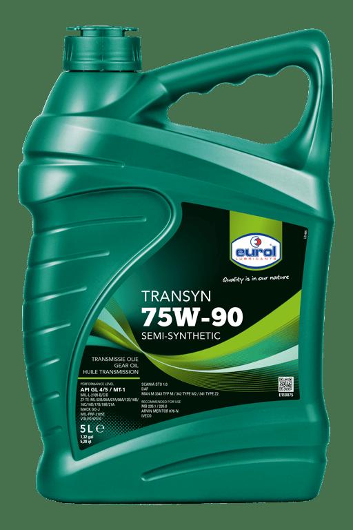 Eurol Transyn 75W-90 GL 4/5 Арт. E110075-5L