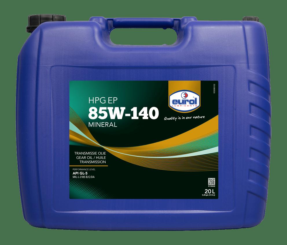 Eurol HPG EP 85W-140 GL5 Арт. E110640-20L