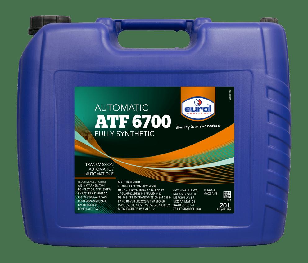 Eurol ATF 6700 Арт. E113653-20L