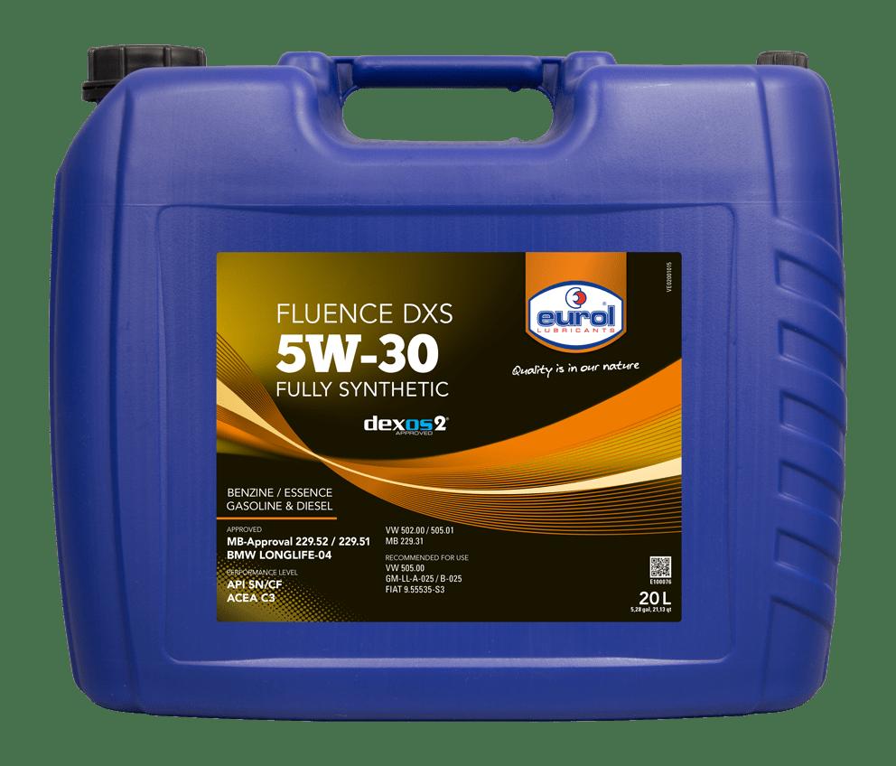 Eurol Fluence DXS 5W-30 Арт. E100076-20L