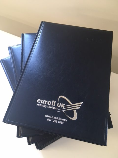 Euroll UK 2019 Diaries Available Now