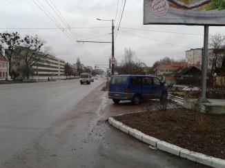 Schytomyr, Prospekt Myru (nahe der Kasernen und im Wohngebiet von Militärangehörigen)